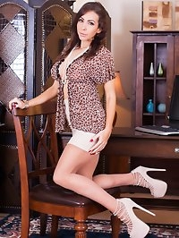 Nina comes to work in an outfit sure to disrupt the..