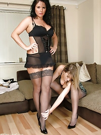 These stunners just look fantastic in stockings and high..