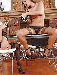 Danika, Eve Angel's hot foot play