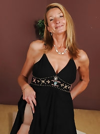 Elegant housewife Pam from AllOver30 looking great for 51..