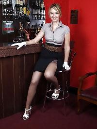 Katie Kay - Pub stripper!