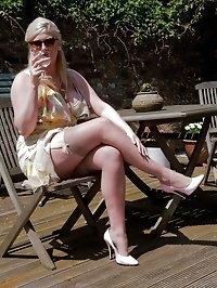 Michelle B - Summer sun, sofa fun!