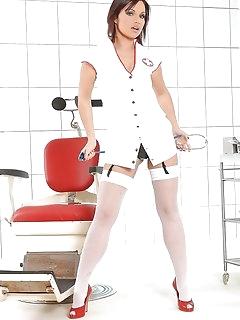 Nurse Nylon Babes