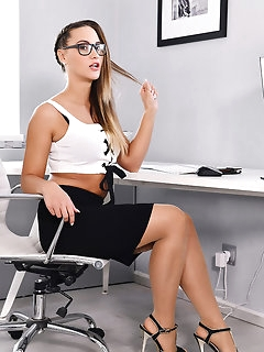 Office Nylon Babes
