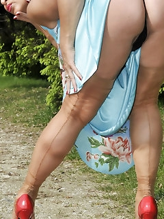 Dress Nylon Babes