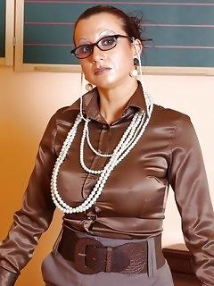 Teacher Nylon Babes