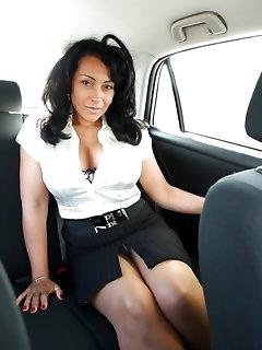 Ebony Nylon Babes